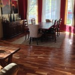 Acacia Wood Flooring Installation